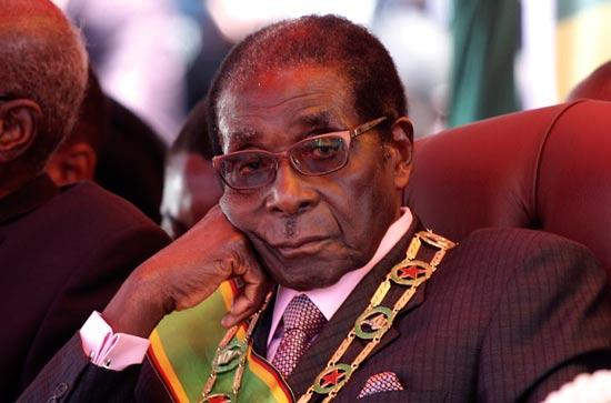 מנהיגים מבוגרים - רוברט מוגבה זיבאבווה / צילום: רויטרס