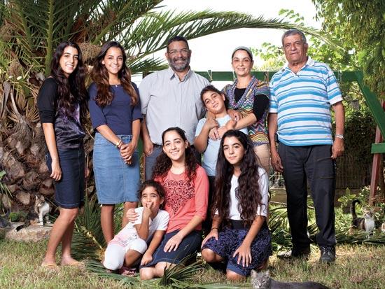 משפ' כברה, מושב בני ראם / צילום: ענבל מרמרי