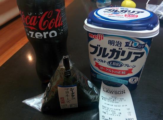 דוגמא למחירים בטוקיו / צילום: ערן ינקו