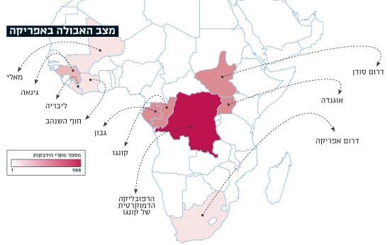 מצב האבולה באפריקה