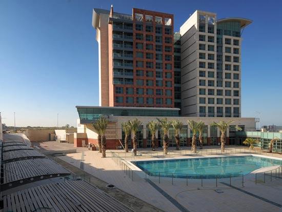 המלון של פתאל באשדוד לפני שיפוץ / צלם: יחצ