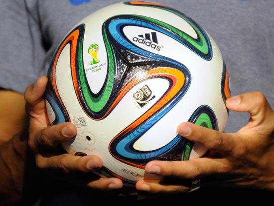 בראזוקה, כדור המשחק הרשמי של מונדיאל 2014 / צלם: רויטרס