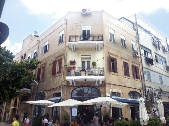 בניין הדירות ביפו / צילום: תמר מצפי