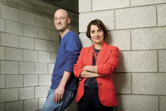 ינון גלזנר וענבל אריאלי / צילום: איל יצהר