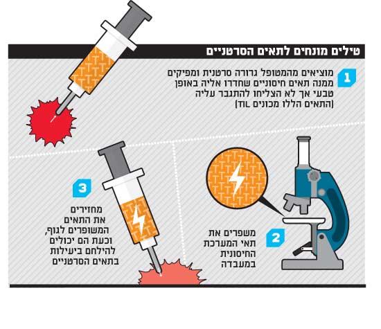 טילים מונחים לתאים הסרטניים