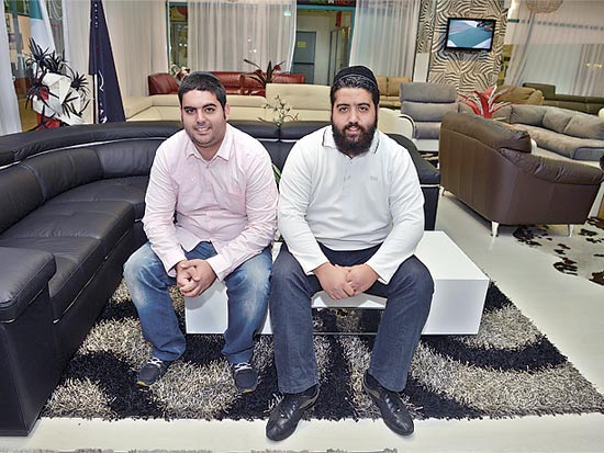 האחים רוני וגבריאל נמני / צילום: תמר מצפי
