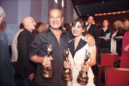 דאנה איבגי וזאב רווח השחקנים הטובים ביותר/ צילום: יחצ