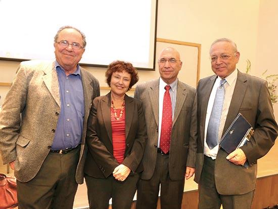 רייכמן, אקשטיין, פלוג ומלניק / צילום: עדי כהן צדק