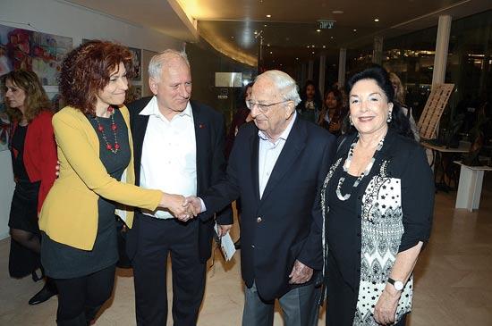 יצחק נבון ויאיר סרוסי/ צילום:יוסי כהן