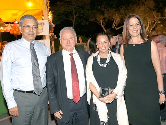 דלית רביב, שרי אריסון, יאיר סרוסי וציון קינן / צילום: אלי דסה