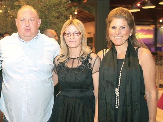 לימור ויזל, אירית רוזנבלום, הראל ויזל / צילום: אילן ספירא