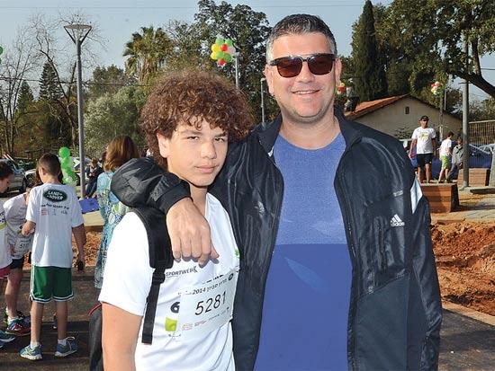 ישראל ודידי רייף / צילום: יוסי כהן