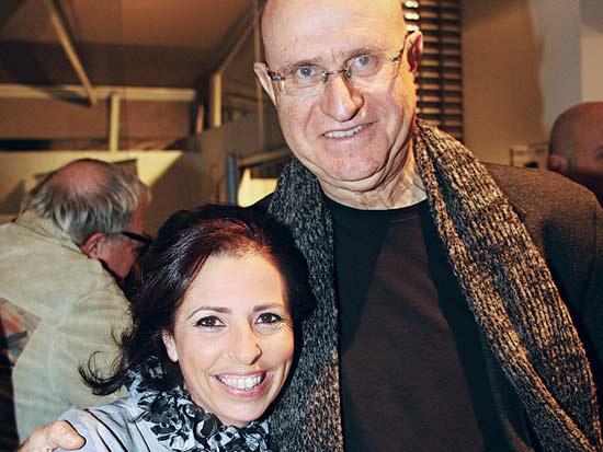 אבישי ברוורמן, אביטל סבג, ספר בישול צמחוני לאביטל סבג / צילום: חנוך גריזיצקי