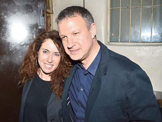 אראל מרגלית, סטלה הנדלר, יום הולדת 53 למרגלית /צילום: יחצ