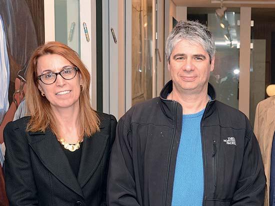 גיא מרוז, אוולין כהן, פתיחת שנת 2014 בפדקס אקספרס ישראל / צילום: ניר ורדי