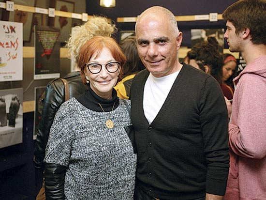 יגאל בר און וטובית שלומי / צילום: קובי פלדמן