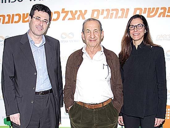 דינה נבות, משה וידמן, אלדד פרשר, השקת פרויקט