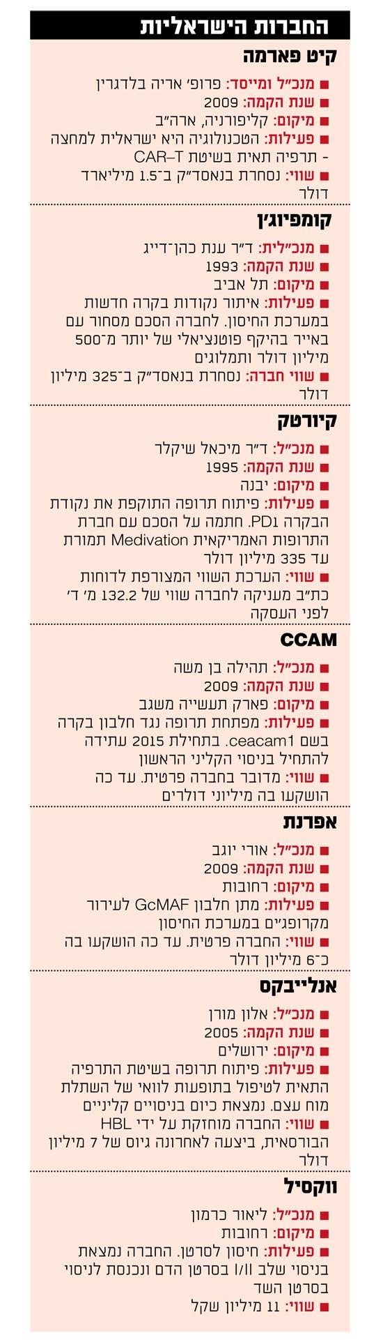 החברות הישראליות