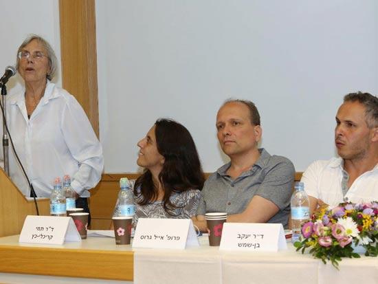 יעקב בן שמש, אייל גרוס, תמי קריכלי כץ, דליה דורנר / צילום: קובי קנטור