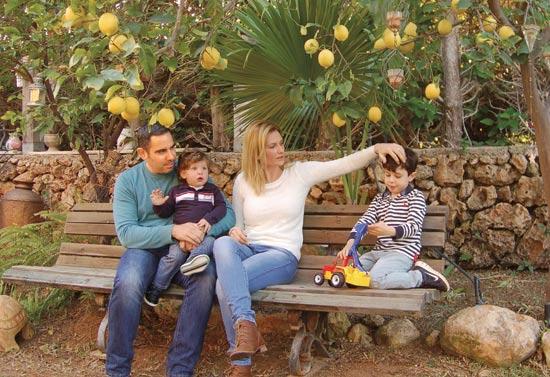 משפחת לוי / צילום: גיל ארבל