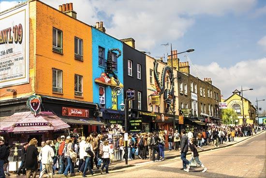 קמדן מרקט בלונדון / צילום: שאטרסטוק