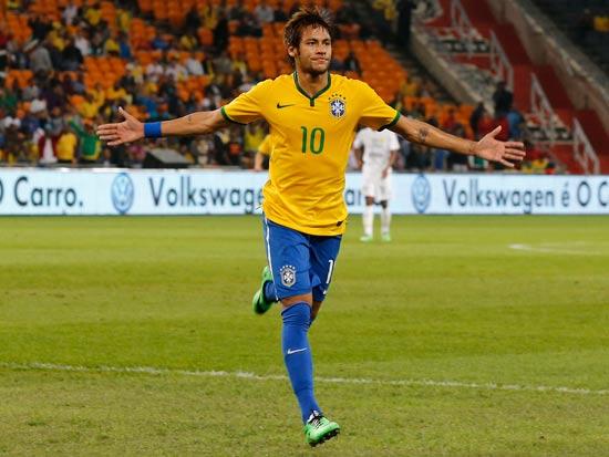 חלוץ נבחרת ברזיל ניימאר / צלם: רויטרס