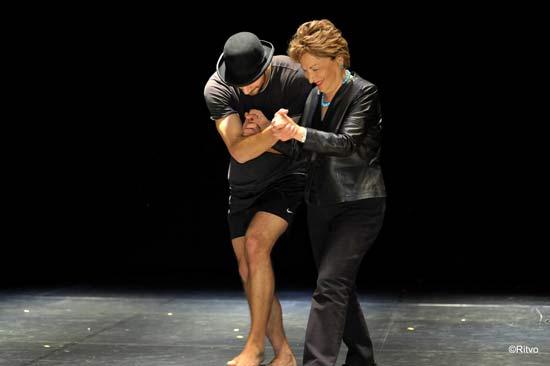 רעיה שטראוס ורקדן מלהקת המחול געתון / צלם: אוצרות הגליל