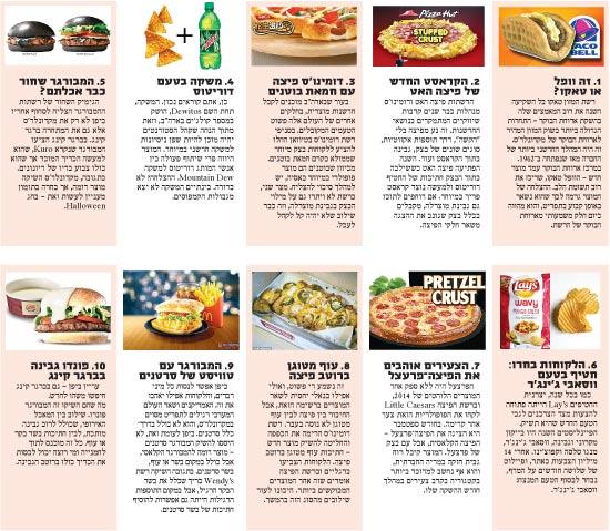 מוצרי המזון המוזרים / צילום: אתרי החברות ויחצ