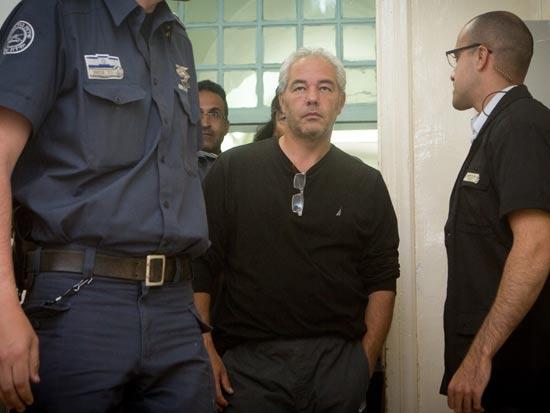 רונאל פישר בעת הארכת מעצרו /צילום: ליאור מזרחי