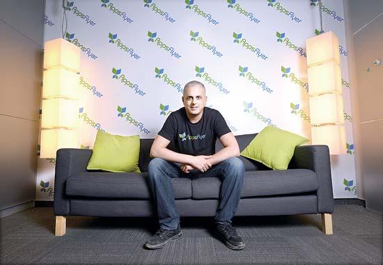 """אורן קניאל, מנכ""""ל AppsFlyer / צילום: איל יצהר"""