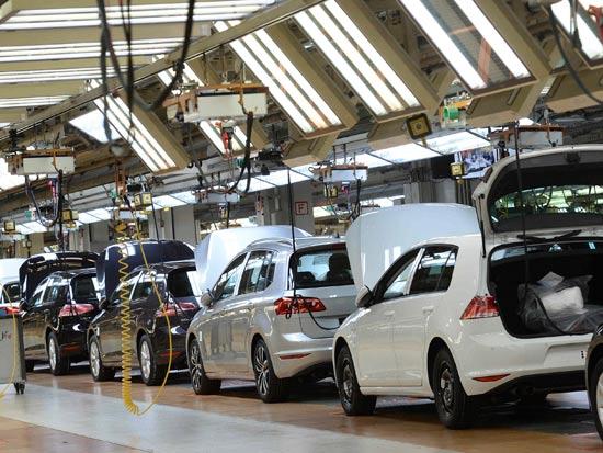 מפעל פולקסוואגן / צילום: רויטרס