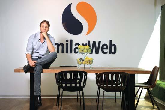 """אור עופר, מנכ""""ל SimilarWeb צילום: איל יצהר"""