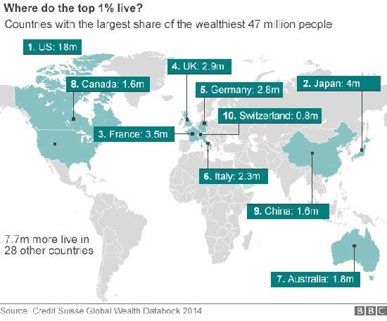איפה גרים האנשים העשירים בעולם / צילום מסך