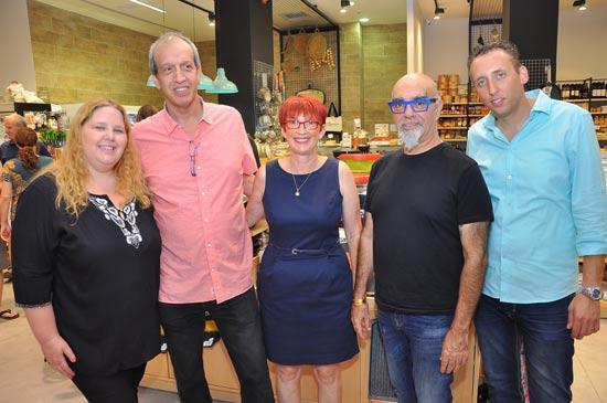 ישראל אהרוני, רותי קרניאל,גיא מורג, אורית/ צלם: צחי ישר