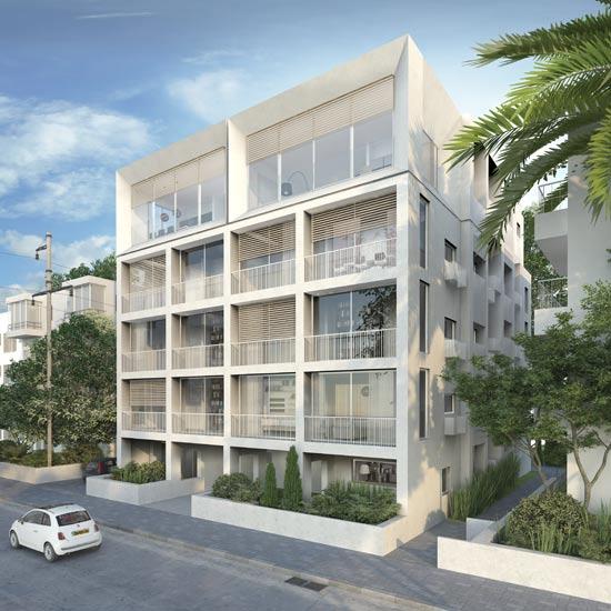פרויקט אייבשיץ 6, תל אביב / צילום: חברת אקו סיטי