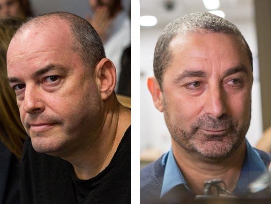 ג'קי בן זקן ואיתן אלדר / צילום: שלומי יוסף
