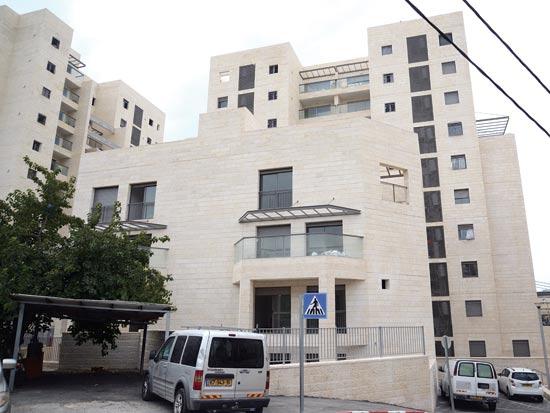 הבניין של משפחת דרעי ברחוב הראובני בירושלים / צילום: איל יצהר