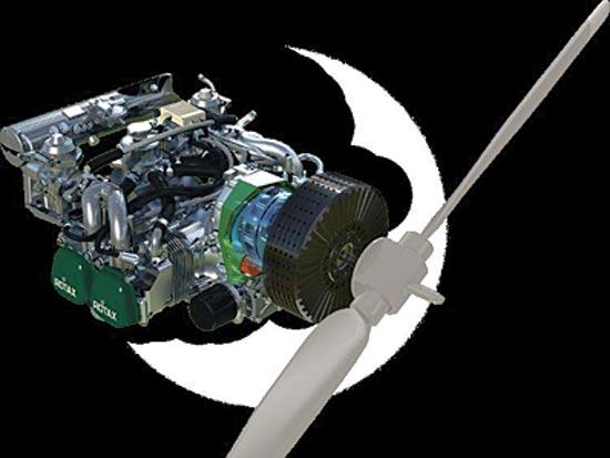 המנוע ההיברידי החדש / צילום: יחצ