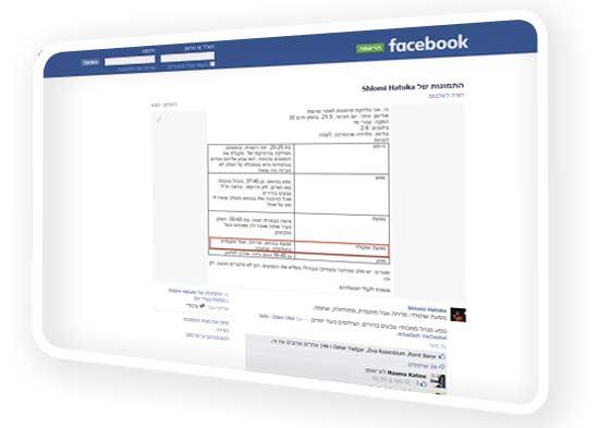 דוגמא לבריף גזעני של משרד פרסום/ צילום:מתוך הפייסבוק של שלומי חתוכה