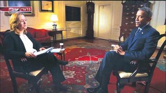 ברק אובמה ואילנה דיין בעובדה / צילום: יחצ
