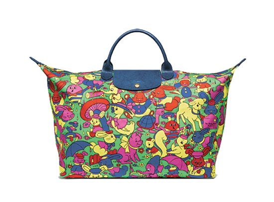 Jeremy Scott & Longchamp / צילום: יחצ