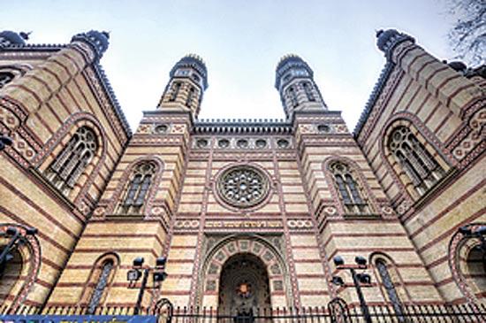 בית הכנסת דוהני בבודפשט/ Shutterstock