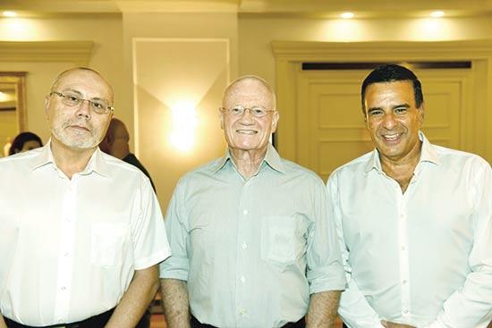 בועז דקל, דני יתום ואבי הוכמן / צילום: מורג ביטון