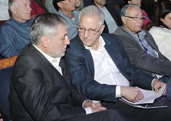 ליאון רקנאטי ומאיר כהן / צילום: - חן וילנר סטודיו שלושה צלמים