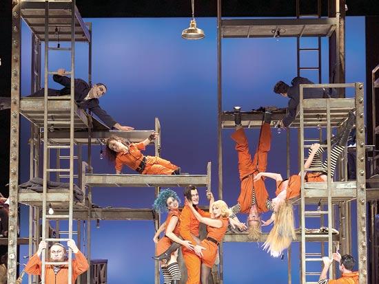 מתוך אופרה בגרוש / צילום: דניאל קמינסקי יחצ