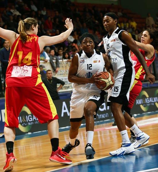 אליצור רמלה מול אשדוד / צלם: מינהלת ליגת העל בכדורסל נשים