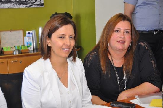 אוה מדז'יבוז וגילה גמליאל / צילום: יהודה שגב