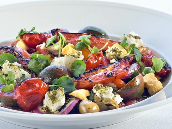 מסעדת הרברט סמואל - סלט עגבניות הרברט סמואל / צילום: תמוז רחמן, יח