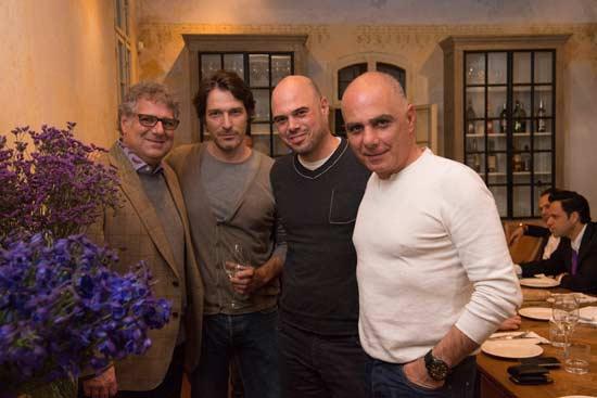 יגאל בראון, אדם אבנון, אמיר גיא ומתיו ג'יי צ'קנר/ צלם: נדב כהן יונתן