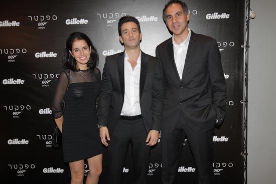 אופיר גוטמן , יהודה לוי ונעמה גלעדי/ צילום: שוקה כהן